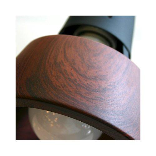 ハーモニー6リモートシーリングランプ(BN/BK ブラウン+ブラック) | アートワークスタジオ  -- 入荷待ち ご予約受付中!--