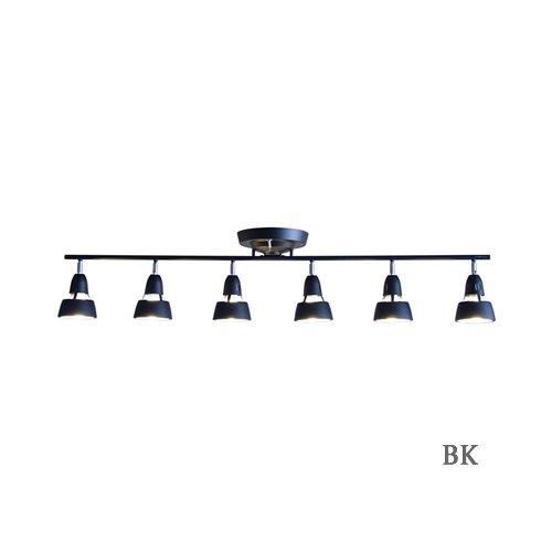 ハーモニー6リモートシーリングランプ (BK ブラック) | アートワークスタジオ  -- 入荷待ち ご予約受付中!--