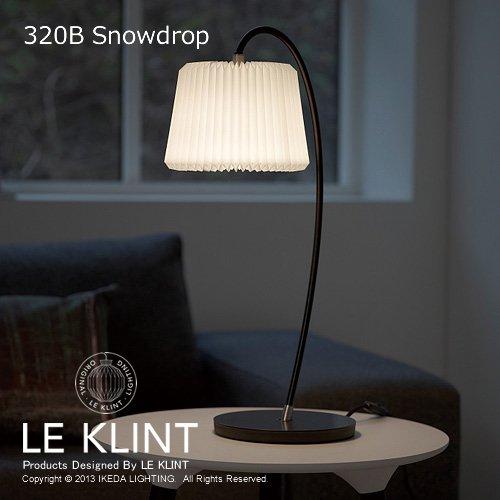 テーブルランプ 320B スノードロップ ブラック   LE KLINT レクリント