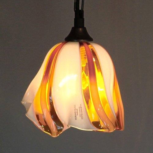 MURANO GLASS ムラノ ガラス ペンダントライト No.013  -- メーカー在庫が無くなり次第販売終了 --