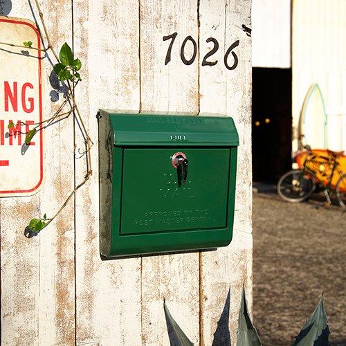 U.S.メールボックス (GN グリーン)   アートワークスタジオ