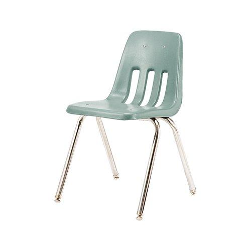 ヴァルコ スタッキング 9000 チェアー | VIRCO 9000 Chair チェアー (AG アッシュグリーン)   - 入荷待ち ご予約受付中…