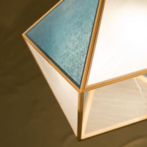 彩 sai L ペンダント(白×藍)  | 新洋電気