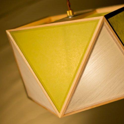 彩 sai S ペンダント(白 × 萌葱) 1灯タイプ | 新洋電気