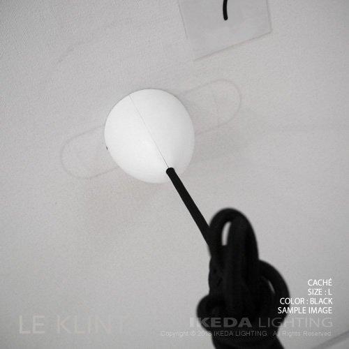 キャシェ L ブラック | LE KLINT レクリント CACHÉ L B