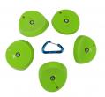 【Boltタイプ】5 XL スクープ  ( ジャグ セット#2)  / 5 XL Scoops ( Jugs Set #2 ) クライミングホールド