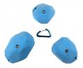 【Bolタイプ】3 XXL スティープウォール   スローパー  (  facets )  set  1   - 裸足でも遊びやすいクライミングホールド