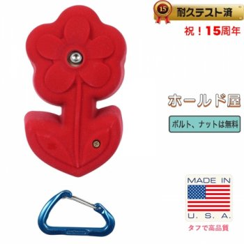 【Boltタイプ】フラワー  ホールド  /  Large Flower (Bolt-on)   クライミングホールド