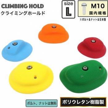 【Bolタイプ】5 Large ベーシック  ディスク エッジ  /      5 Large Basic Disk Edges  裸足でも遊びやすいクライミングホールド