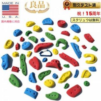 【Screwタイプ】50 パック スクリューオン  -  50 Pack (Screw On) - クライミングホールド