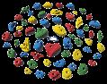 【一番人気商品、Bolt タイプ】60 パック バラエティー   -   60 Pack Variety  クライミングホールド