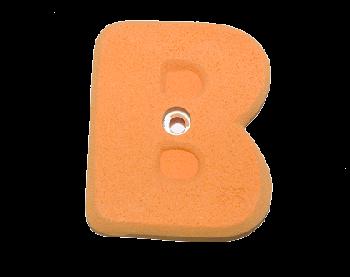 <img class='new_mark_img1' src='https://img.shop-pro.jp/img/new/icons25.gif' style='border:none;display:inline;margin:0px;padding:0px;width:auto;' />【Bolタイプ】Bホールド  /  atmik-alphabet B  ( bolt )  クライミングホールド