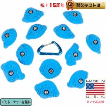 【Boltタイプ】12  Steep Wall  ブレイン コーラルスラブ クリンプ  /  12 Steep Wall Brain Coral Crimps - クライミングホールド
