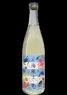 白麹純米酒 海風土(sea food)ブルー