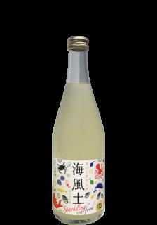 白麹純米酒 スパークリング 海風土(シーフード)<br>Junmai