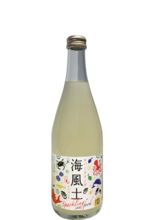 白麹純米酒 Sparkling 海風土(sea food)