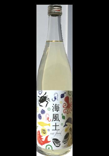 """白麹純米酒 海風土(シーフード) Junmai """"Seafood"""" - 富久長"""