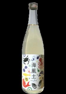 白麹純米酒 海風土(シーフード) Junmai