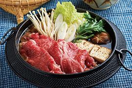 冬の定番!お鍋(さの萬牛熟成すき焼き・萬幻豚しゃぶしゃぶ)