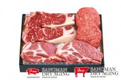 富士山麓熟成 ドライエイジング牛肉豚肉食べくらべ! あれこれ3種セット 贈り物ギフトお歳暮 ★冷凍