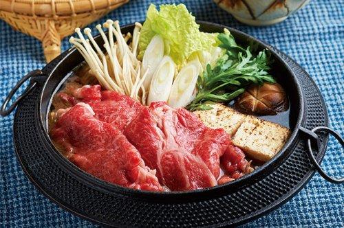 さの萬牛 熟成ロースすき焼き (450g)★冷凍