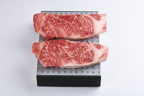 さの萬牛 熟成サーロインステーキ 2枚