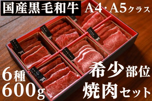 国産黒毛和牛A4・A5クラス 雌限定 希少部位焼肉セット 冷凍