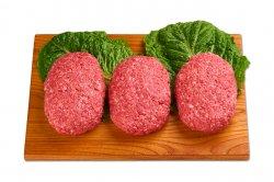 さの萬牛 手ごねハンバーグ(3個)★冷凍