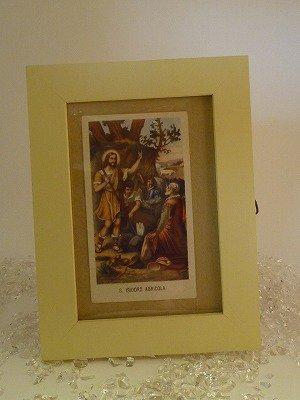 聖画イエス、キリストのアンティークカード