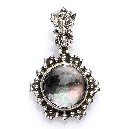 『ヒマラヤ水晶』月光のようなガネーシュヒマール産ペンドントトップ
