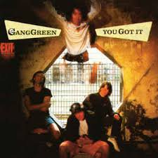 "GANG GREEN/YOU GOT IT""LP"