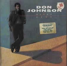 """DON JOHNSON/ HEART BEAT""""LP"""