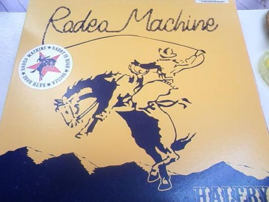 """HALFBY/RODEO MACHINE""""12"""