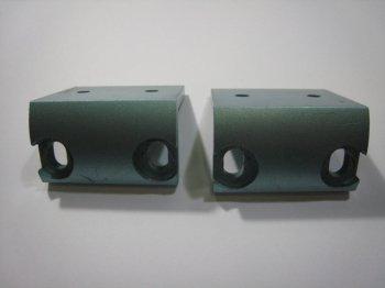 VESTAX 純正 アイソレーター用 ラックマウント金具 (2個)