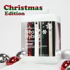 SGPケース ネオ・ハイブリッド クリスマス エディション for iPhone4
