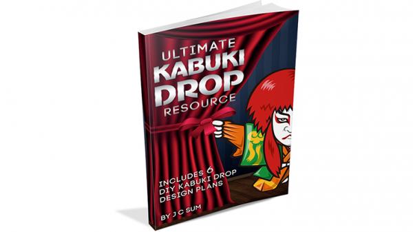 Ultimate Kabuki Drop Resource by JC Sum - Book - Magic shop Offreco  マジックショップ マジック オフレコ