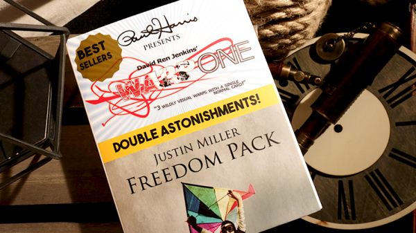 Paul Harris Presents Warp One/Freedom Pack Double Astonishments by Justin Miller & David Jenkins