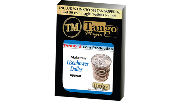 Tango Coin Production - Eisenhower Dollar D0187 (Gimmicks and Online Instructions) by Tango - Trick