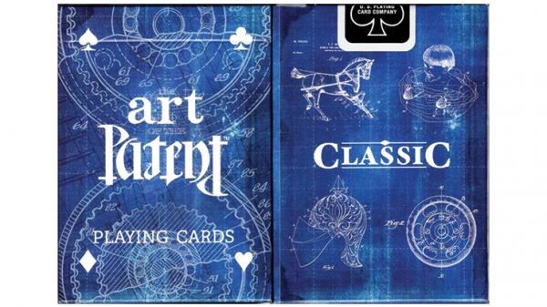 Limited Edition Art of the Patent (Classic) Playing Cards