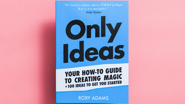 Only Ideas by Rory Adams - Book
