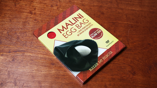 Malini Egg Bag Pro Red (Bag and DVD) - Trick