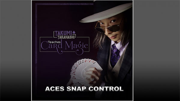 Takumi Takahashi Teaches Card Magic - Aces Snap Control video DOWNLOAD
