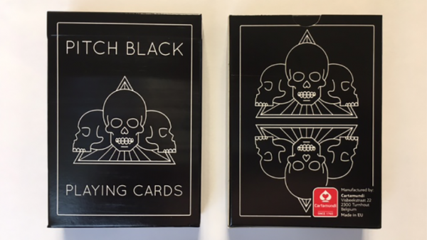 Pitch Black Playing Cards by Copag