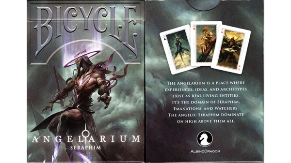 Bicycle Angelarium (Seraphim) Playing Cards