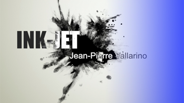 Ink-Jet Blue (Gimmick and Online Instructions) by Jean-Pier Vallarino  - Trick