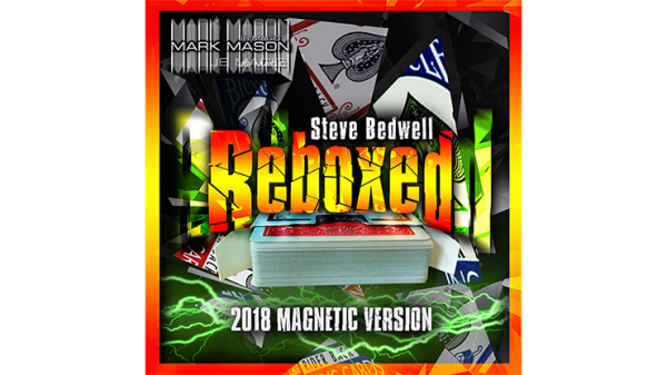 Reboxed 2018 Magnetic Version Blue (Gimmicks and Online Instructions) by Steve Bedwell and Mark Mas