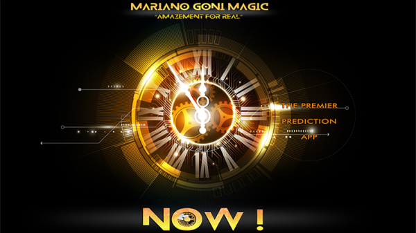 NOW! iPhone Version (Gimmicks and Online Instructions) by Mariano Goni Magic - Trick
