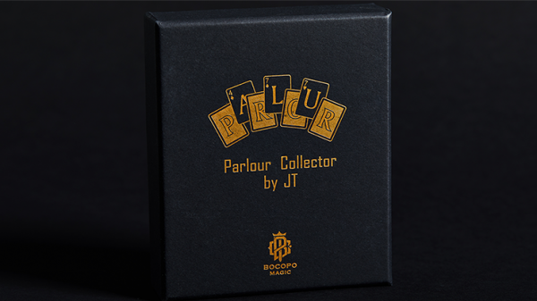 Parlour Collector RED by JT and BOCOPO Magic - Trick