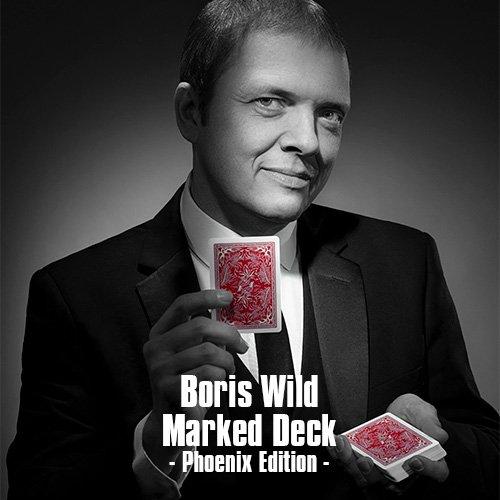 Boris Wild Marked Deck - Phoenix Edition