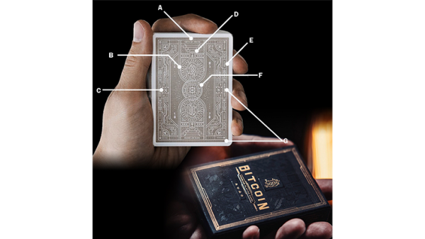 Bitcoin Playing Cards by Patrick Kun